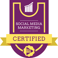 Social Media Marketing Certified Badge