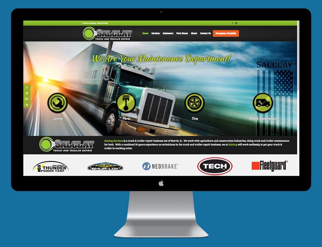 Salclay New Website