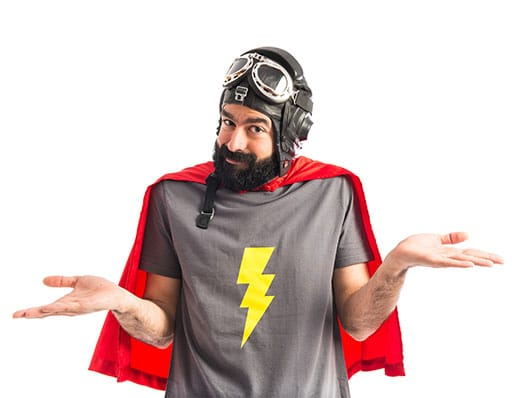 Super Guy Small Business Website Why Wait