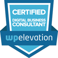 WP Elevation Digital Consultant Badge