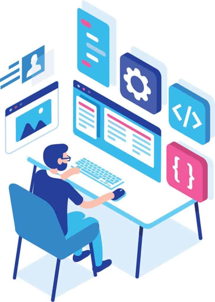 Developer-Illustration